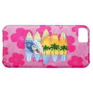 Surfare och surfingbrädor iPhone 5C fodral