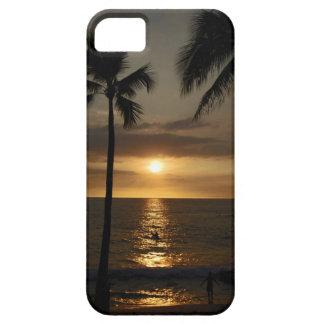 Surfare på solnedgången iPhone 5 cover