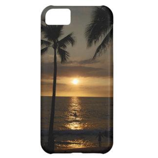 Surfare på solnedgången iPhone 5C fodral