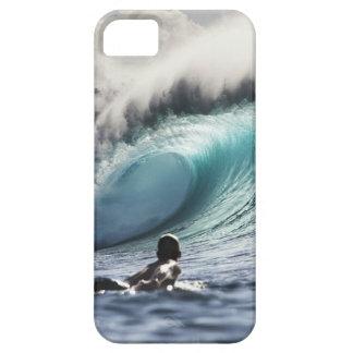 Surfaren vinkar fodral för iphone 5 iPhone 5 skal