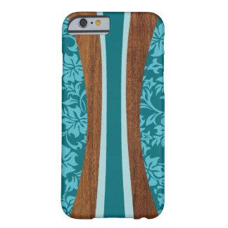 Surfingbräda för Laniakea hawaiansk Fauxträ Barely There iPhone 6 Fodral