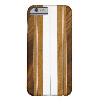 Surfingbräda för Nalu M.U.A. FauxKoa trä Barely There iPhone 6 Skal