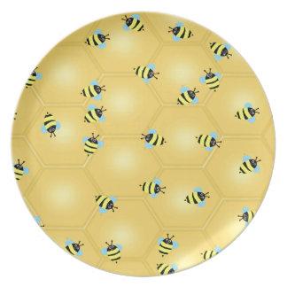 Surra för bin tallrik