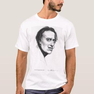 Surrealistisk konstnärporträttt-skjorta tee shirts