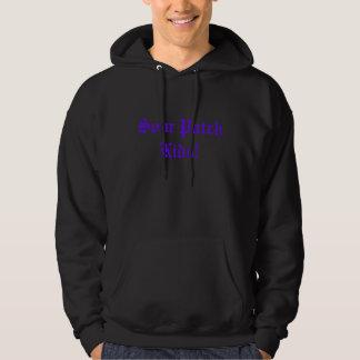 Surt lappa ungar! sweatshirt med luva