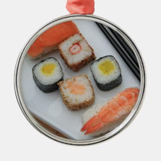 Sushi! Julgransprydnad Metall