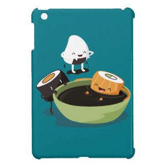 Sushi tycker om rolig badtid iPad mini mobil fodral