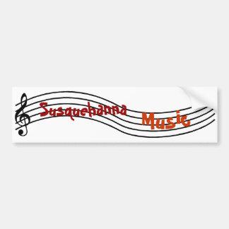 Susquehanna musik bildekal