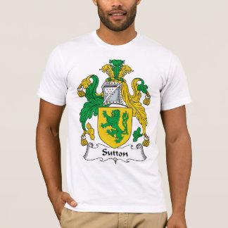 Sutton familjvapensköld tshirts