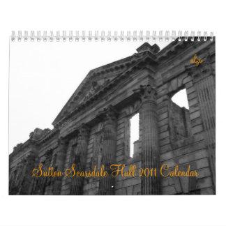 Sutton Scarsdale Hall 2011 kalender