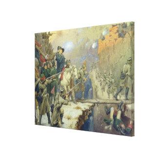 Suvorov som korsar djävulen, överbryggar i 1799, 1 canvastryck