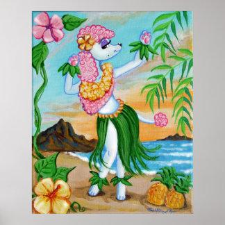 Suzette älskar öarna poster