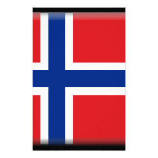 Svalbard Jan Mayen (norge) flagga Brevpapper