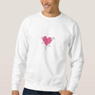 Sväller ordnat som hjärta långärmad tröja