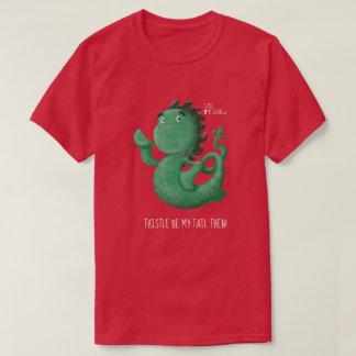 Svan för Thistle för WeeNessieLoch Ness gigantisk Tshirts