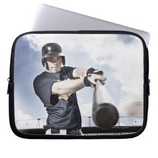 Svängande baseballfladdermöss 2 för laptop fodral
