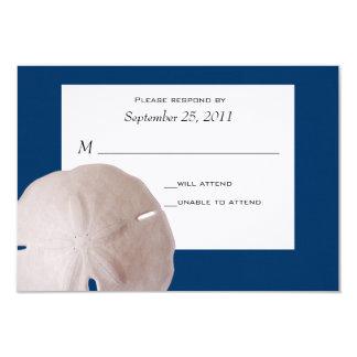 Svar för Wedding/för Sanddollar 8,9 X 12,7 Cm Inbjudningskort