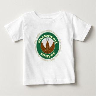 Svarad kristen bebist-skjorta för bön t-shirt