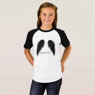 svart ängel t shirt
