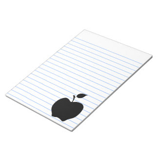 Svart Apple Anteckningsblock