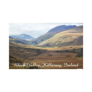 Svart dal Killarney, Kerry, Irland Canvastryck