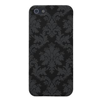 Svart damast iPhone 5 cases