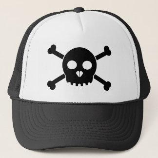 Svart Deths för raksträcka Head hatt Keps