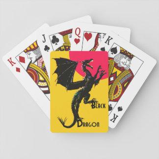 Svart drake casinokort