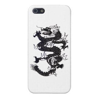 Svart drake iPhone 5 cover