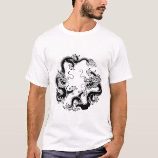 Svart drake t-shirt
