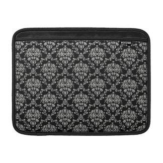 Svart elegant och för MacBook för silver damastast MacBook Air Sleeve