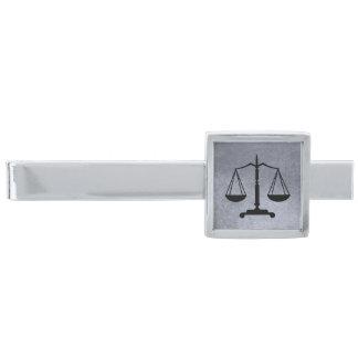 Svart fjäll för silver av rättvisa silverpläterad slipsnål