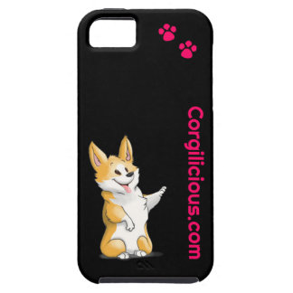 Svart fodral för CorgiiPhone 5 iPhone 5 Skal
