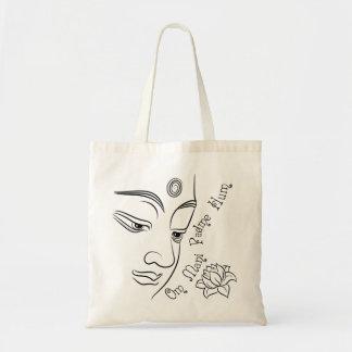 Svart för mummel för lotusblommablommaOm Mani Tygkasse