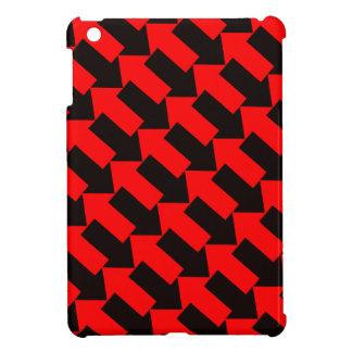 svart för orange för pilar för mini- fodral för iPad mini mobil skal