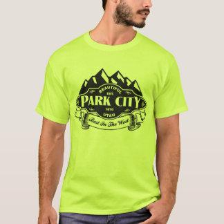 Svart för Park City bergEmblem Tröjor