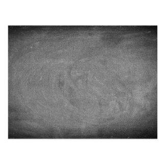 Svart för svart tavlaBlackboard för grå färg Vykort