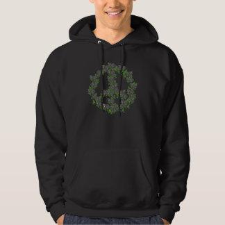 Svart fredro hoodie