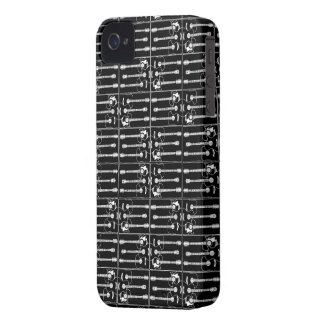 Svart gitarrer iPhone 4 Case-Mate case