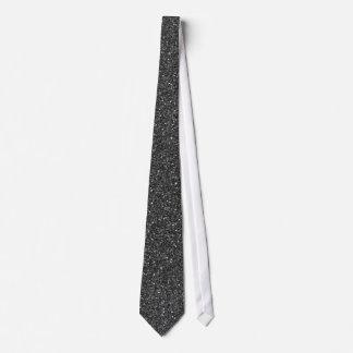 Svart glitter slips