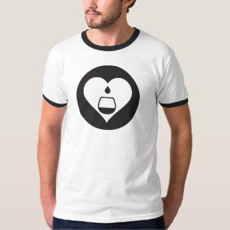 Svart grafisk T-tröja för Hearts2Tails T-shirt