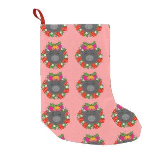 Svart gris av Chelsea ★° + . God jul. + °★ Small Christmas Stocking