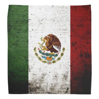 Svart GrungeMexico flagga Bandana