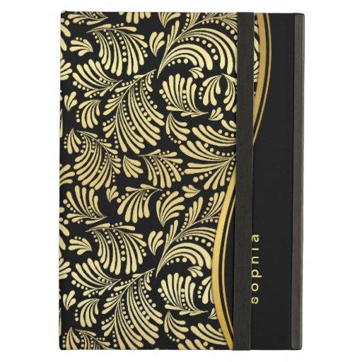 Svart guld- MonogramiPadfolio