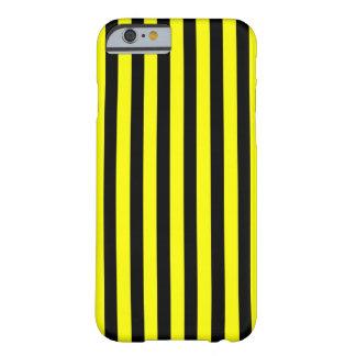 Svart gult fodral för lodrät för randiPhone 6 Barely There iPhone 6 Skal