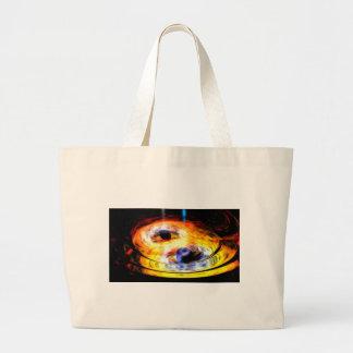 svart hål jumbo tygkasse