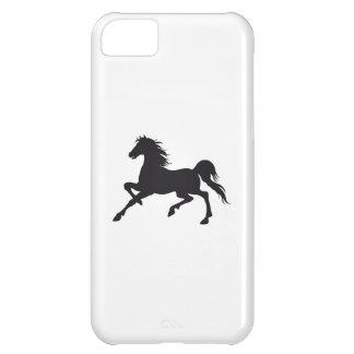 Svart häst iPhone 5C fodral