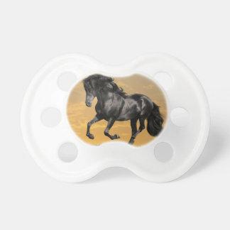 Svart häst napp
