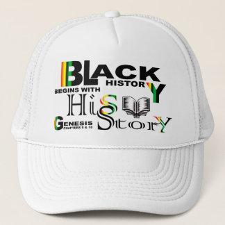 Svart historia - -Story© Hatt-Vit Truckerkeps
