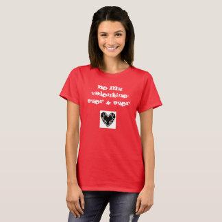 svart hjärta är min grundläggande röda t-skjorta tröja